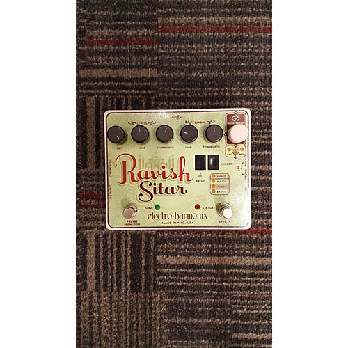 In Store Used Used Electo-harmonix Ravish Sitar Effect Pedal-thumbnail
