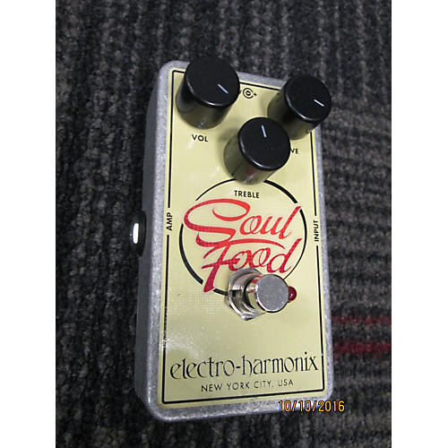 In Store Used Used Electro-Hamonix Soul Food Effect Pedal-thumbnail