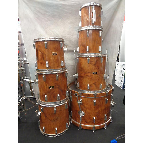 In Store Used Used Emerald 1984 7 piece Safari Series Bubinga Drum Kit