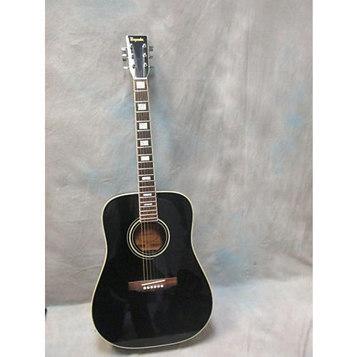 In Store Used Used Emperador 12101 Black Acoustic Guitar-thumbnail