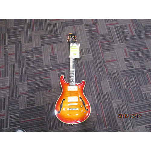 In Store Used Used Eternity Miscellaneous Crimson Red Burst Solid Body Electric Guitar-thumbnail