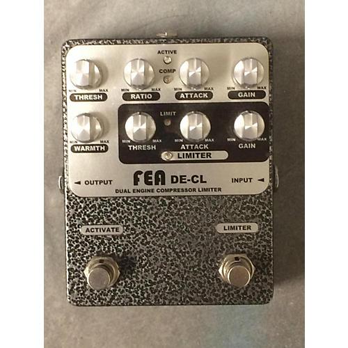 In Store Used Used FEA DE-CL Dual Engine Compressor Limiter Effect Pedal-thumbnail