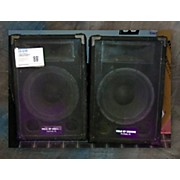 Used FIELD OF DREAMS 12 INCH PASSIVE FLOOR MONITORS PAIR Unpowered Monitor