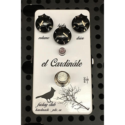 In Store Used Used FRIDAY CLUB EL CARDINALE Effect Pedal