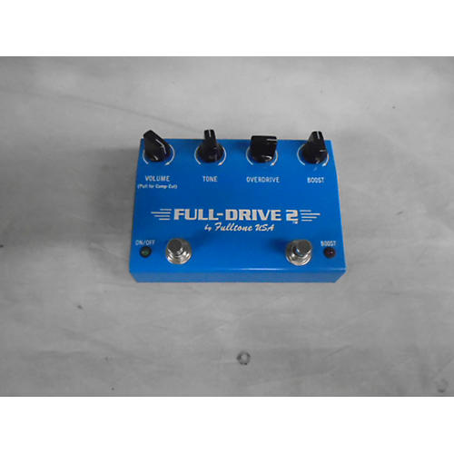 In Store Used Used FULLTONE USA 1996 FULL-DRIVE 2 Effect Pedal-thumbnail