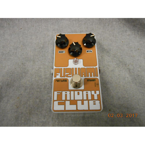 In Store Used Used FUZWAMI FRIDAY CLUB Effect Pedal
