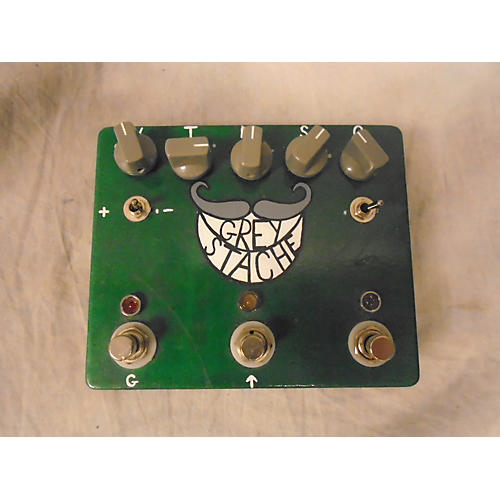 In Store Used Used FUZZROCIOUS GREY STACHE PLUS Effect Pedal