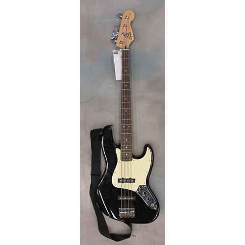 In Store Used Used Fender Squier 2000s Bass Black Electric Bass Guitar-thumbnail