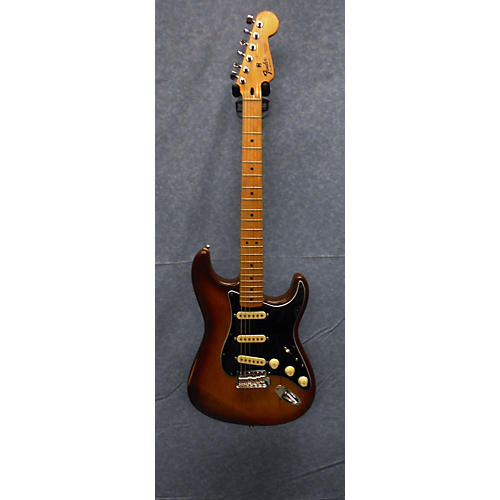 In Store Used Used Fender Squier Series Standard Stratocaster 2 Tone Sunburst Solid Body Electric Guitar