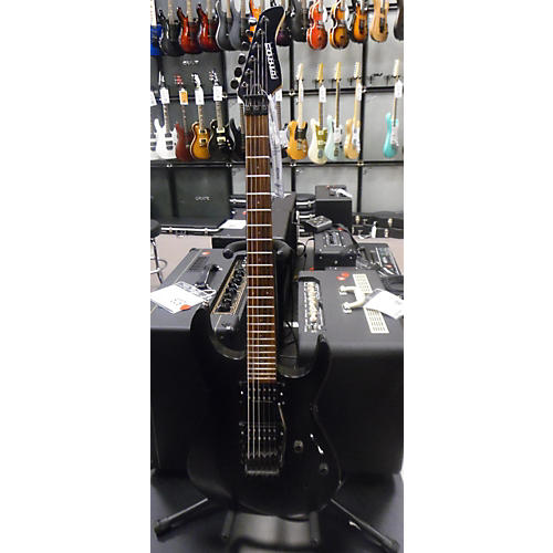 In Store Used Used Fernandez Revolver Black Solid Body Electric Guitar Black