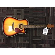 Used Fernando WSCE-F411 2 Tone Sunburst Acoustic Electric Guitar