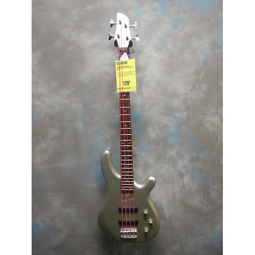 In Store Used Used Fernanes Gravity Metallic Gray Electric Bass Guitar