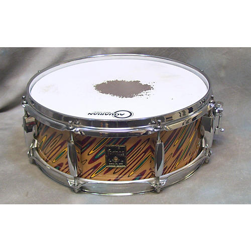 In Store Used Used Fortune 5X13 Custom Multicolor Wrap Drum Multicolor wrap 7