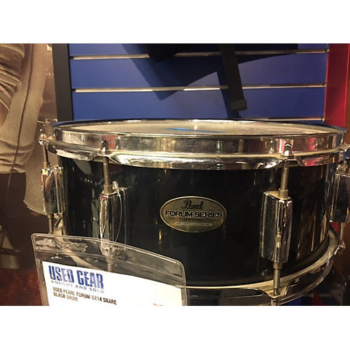 In Store Used Used Forum 6X14 Snare Black Drum