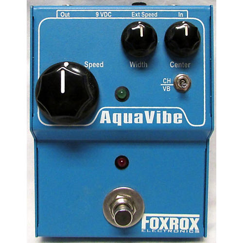 In Store Used Used Foxrox Aquavibe Effect Pedal