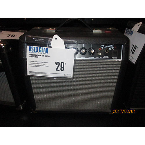 In Store Used Used Frontman 15R Guitar Combo Amp