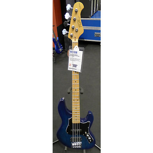 In Store Used Used Fujig-en Mighty J-Standard Blue Electric Bass Guitar