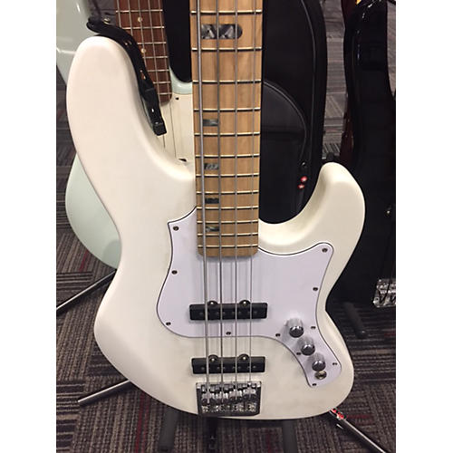 In Store Used Used Fujigen J Style Alpine White Electric Bass Guitar-thumbnail