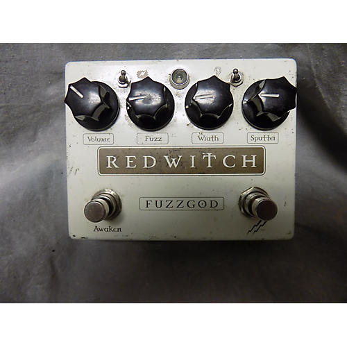In Store Used Used Fuzzgod Redwitch Effect Pedal-thumbnail
