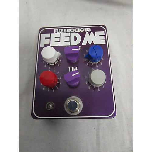 In Store Used Used Fuzzrocious Feed Me Pedal