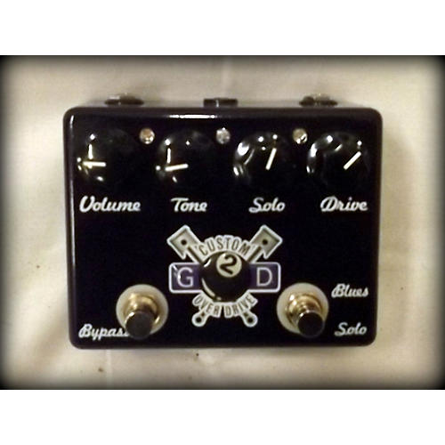 In Store Used Used G2D Custom Overdrive Effect Pedal-thumbnail