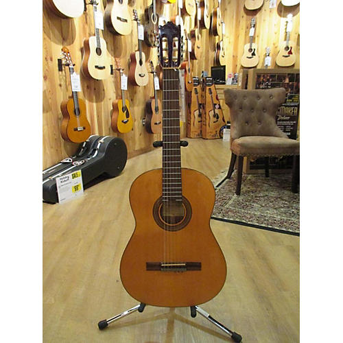 In Store Used Used GALVADOR - Ibanez GA5-aM Natural Classical Acoustic Guitar-thumbnail