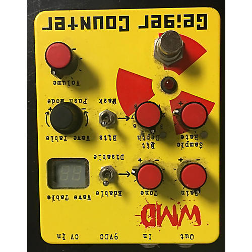 In Store Used Used GEIGER COUNTER 2015 WMD Effect Pedal-thumbnail