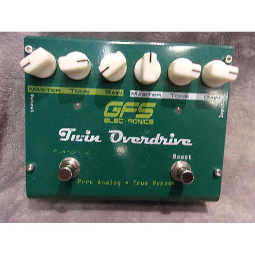 In Store Used Used GFS Electronics Twin Overdrive Effect Pedal