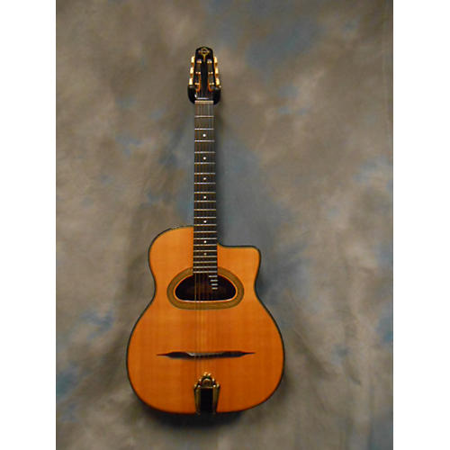 In Store Used Used GITNE 2000s D500 Natural Classical Acoustic Guitar-thumbnail