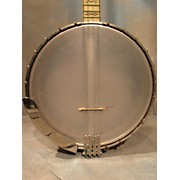 Used GLOBAL 5 STRING BANJO Natural Banjo