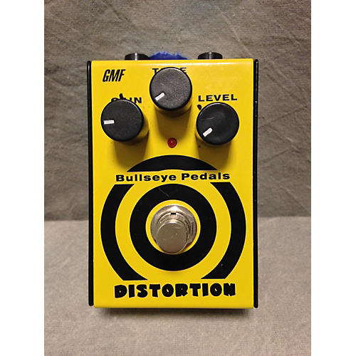 In Store Used Used GMF Bullseye Distortion Effect Pedal