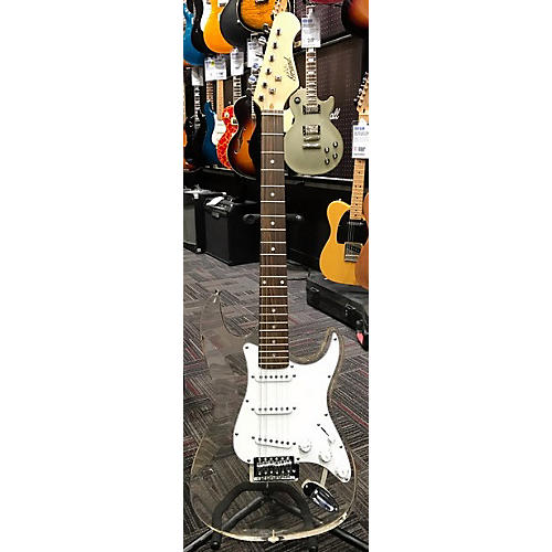 In Store Used Used GRAND ACRYLIC STRATOCASTER TRANSLUSCENT/ACRYLIC Solid Body Electric Guitar-thumbnail