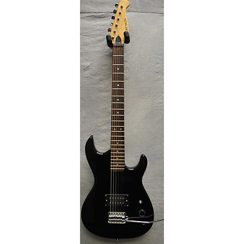 In Store Used Used GREMLIN GREMLIN Black Solid Body Electric Guitar-thumbnail