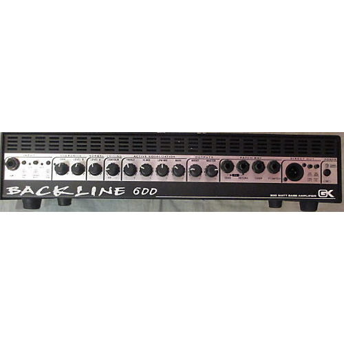 In Store Used  Used Gallien-Krueger Backline 600 300W Bass Amp Head-thumbnail