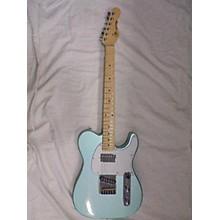 Used Gl Blues Boy Metallic Green Solid Body Electric Guitar