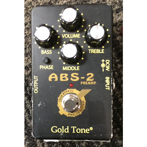 In Store Used Used Goldtone Abs Effect Pedal Package