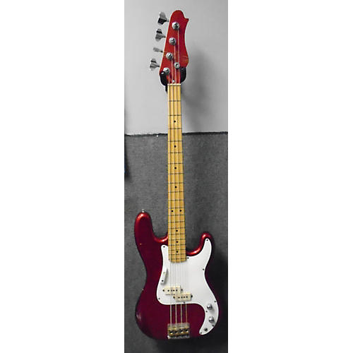 In Store Used Used Grand Prix 100 Red Electric Bass Guitar-thumbnail