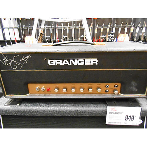 In Store Used Used Granger M50 Plexi Tube Guitar Amp Head-thumbnail