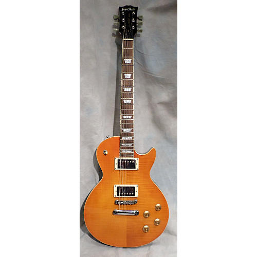 In Store Used Used Grass Roots Limited Amber Solid Body Electric Guitar
