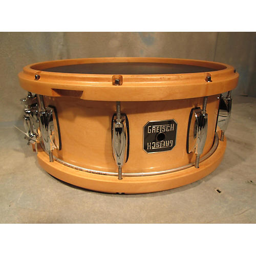 In Store Used Used Gretsch 5.5X14 Full Range Snare Natural Drum-thumbnail