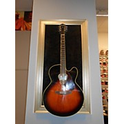 Used Gretsch G3700 Sunburst Acoustic Electric Guitar