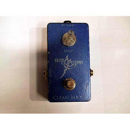 In Store Used Used Grind Customs Clean Boost Effect Pedal