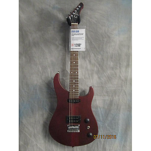 In Store Used Used Grover Jackson 2014 GJ2 Ox Blood Solid Body Electric Guitar-thumbnail