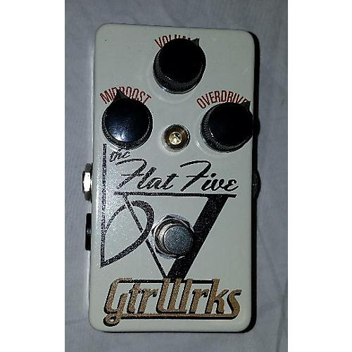 In Store Used Used GtrWrks Flat V Effect Pedal