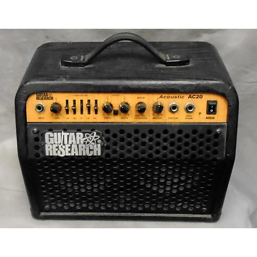 used guitar research ac20 acoustic guitar combo amp guitar center. Black Bedroom Furniture Sets. Home Design Ideas