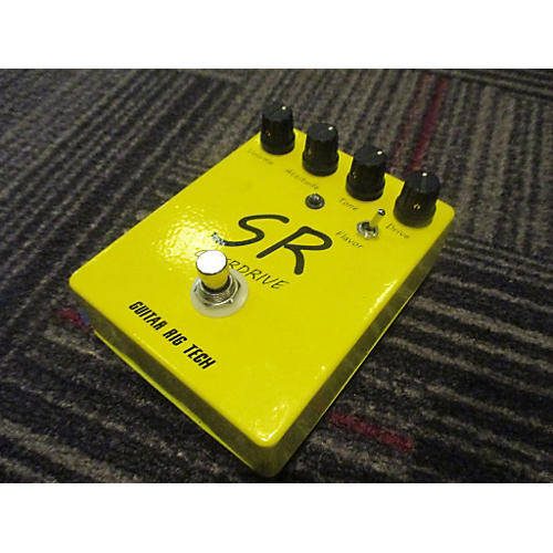 In Store Used Used Guitar Rig Tech SR Overdrive Effect Pedal-thumbnail