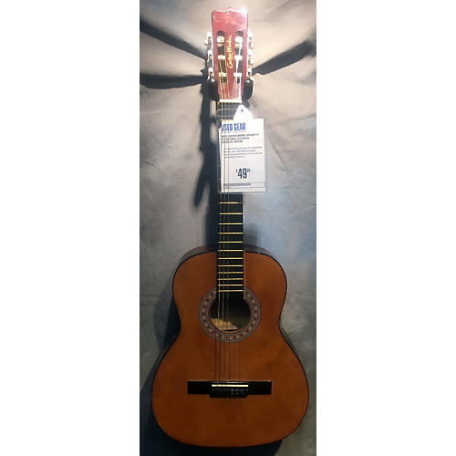In Store Used Used Guitar Works SOGWL510 3/4 Natural Classical Acoustic Guitar-thumbnail