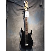 Used Guitar Works Split Pickup Black Electric Bass Guitar