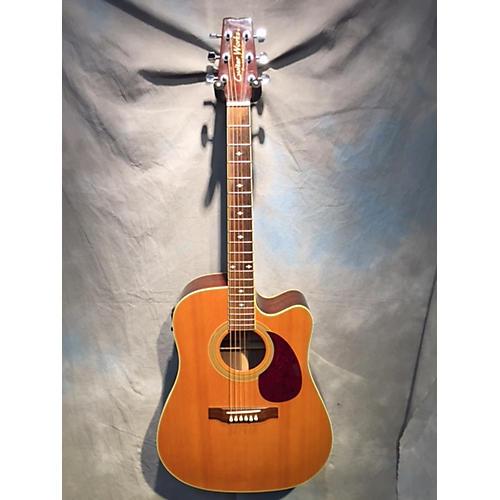used guitarworks gwd 30sce natural acoustic electric guitar guitar center. Black Bedroom Furniture Sets. Home Design Ideas