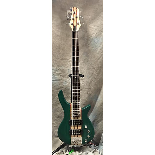 In Store Used Used HADEAN 2000s EB9705 Green Electric Bass Guitar